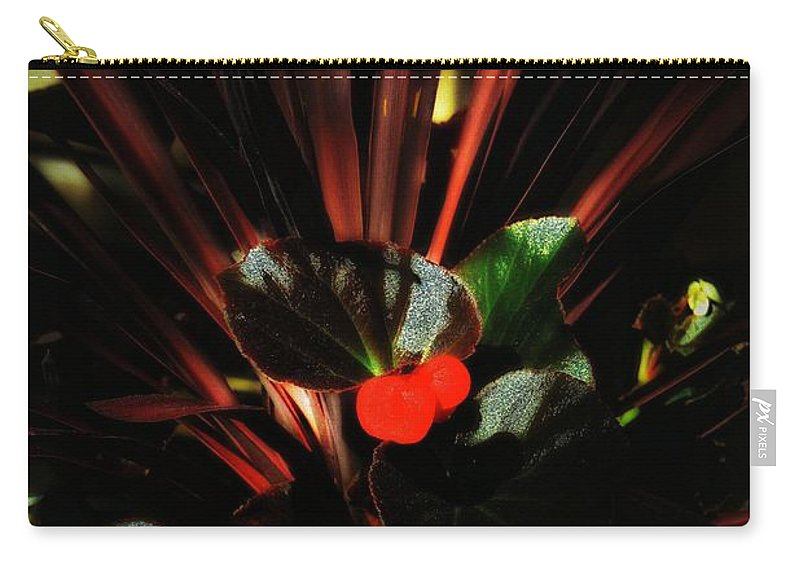 Flowers Carry-all Pouch featuring the photograph Bloomin Bew-t by Robert McCubbin