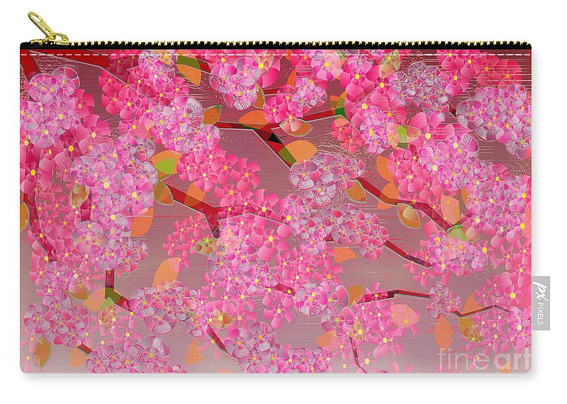 Seaside Carry-all Pouch featuring the painting Blossom by Neil Finnemore