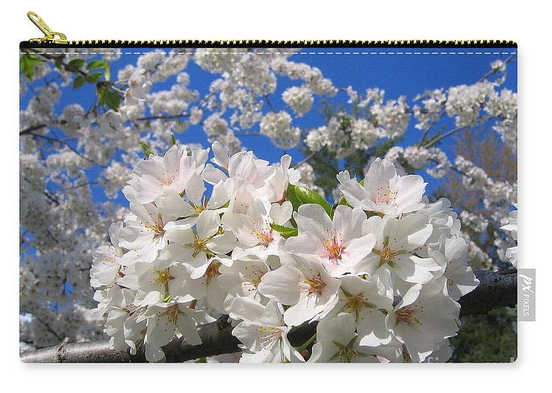 Spring Carry-all Pouch featuring the photograph Blossoms Of Spring by Ann Horn