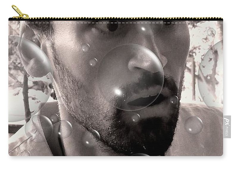 Abstract Carry-all Pouch featuring the photograph Blown Away by Lauren Leigh Hunter Fine Art Photography