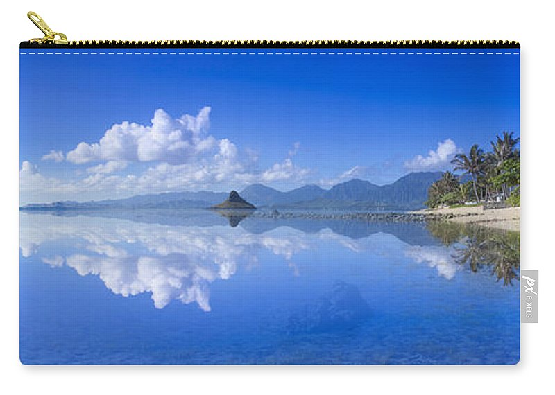 East Side Carry-all Pouch featuring the photograph Blue Mokolii by Sean Davey