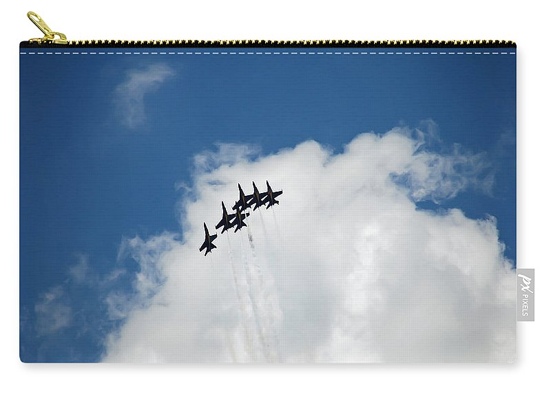 Dare Carry-all Pouch featuring the photograph Blue Angels 2 by Aimee L Maher ALM GALLERY
