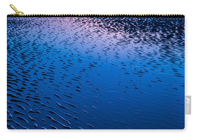 Bay Carry-all Pouch featuring the photograph Blue Hour by Adrian Evans