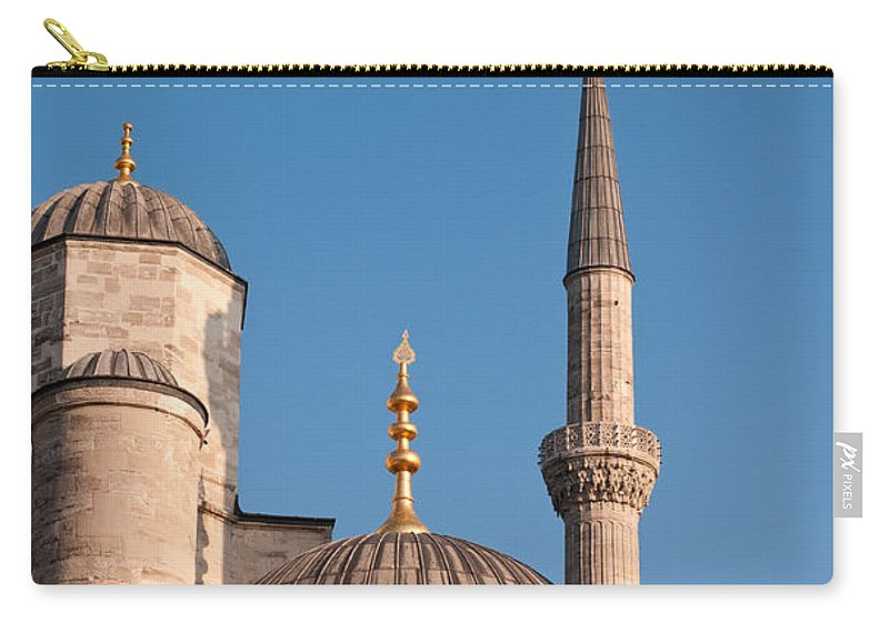 Istanbul Carry-all Pouch featuring the photograph Blue Mosque 02 by Rick Piper Photography
