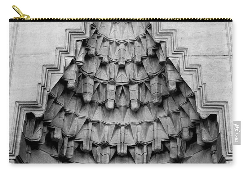 Istanbul Carry-all Pouch featuring the photograph Blue Mosque Stalactites by Rick Piper Photography