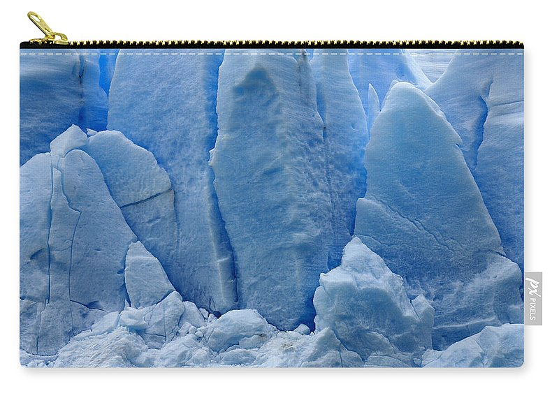 Chile Carry-all Pouch featuring the photograph Blue On Blue by Michele Burgess