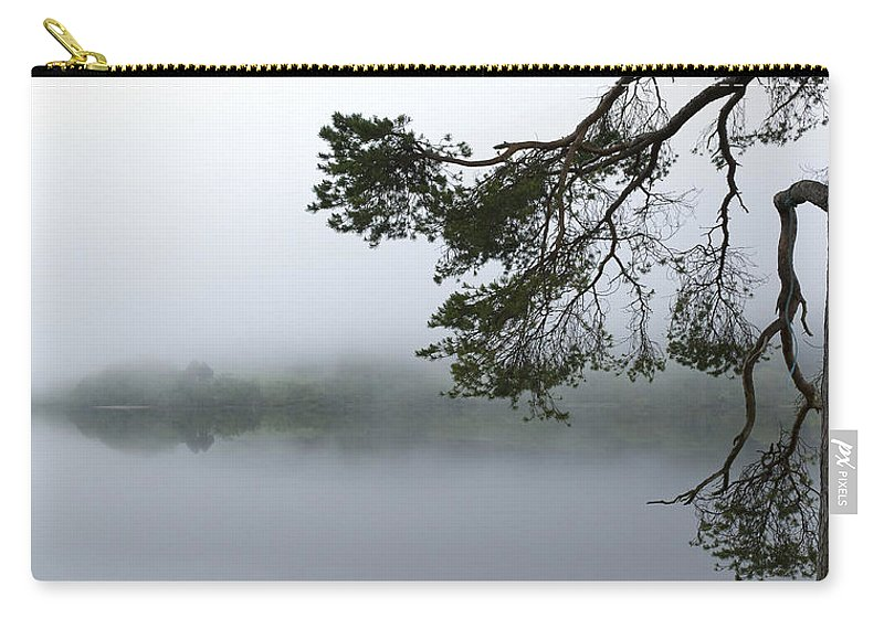Mist Carry-all Pouch featuring the photograph Blue Rope by Gary Eason
