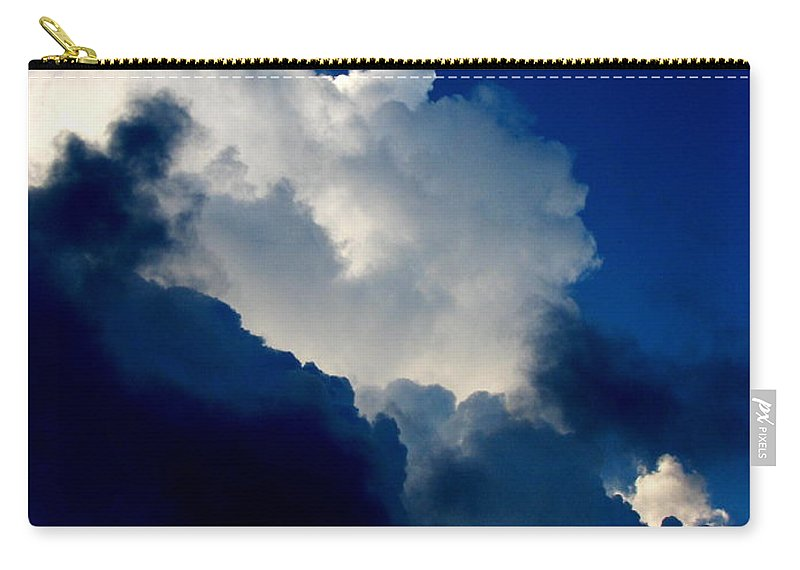 Patzer Carry-all Pouch featuring the photograph Blue Skies by Greg Patzer