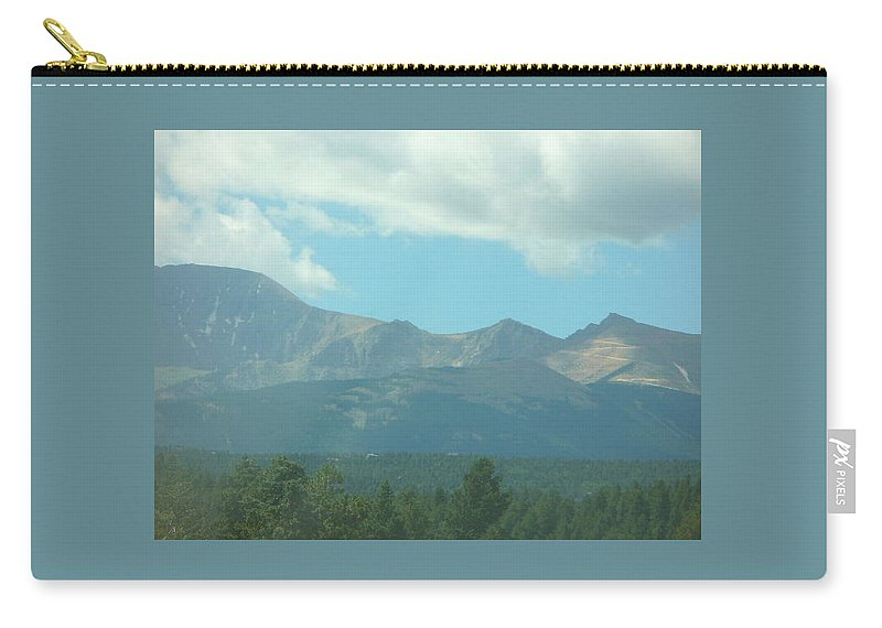 Colorado Carry-all Pouch featuring the painting Blue Sky by Lord Frederick Lyle Morris - Disabled Veteran