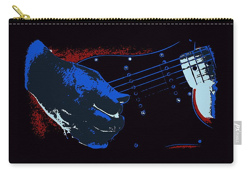 Mississippi Coast Carry-all Pouch featuring the photograph Blues Guitar by Travis Truelove