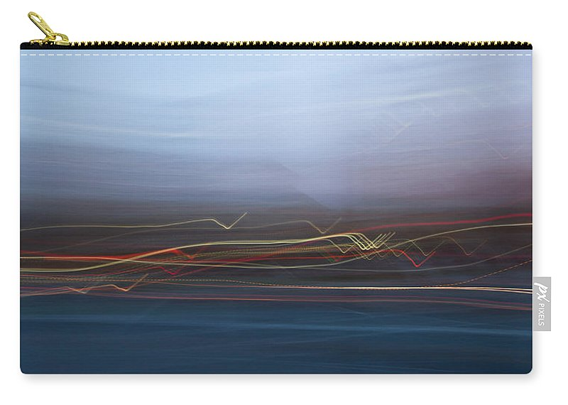 San Jose Carry-all Pouch featuring the photograph Blur City by Dayne Reast