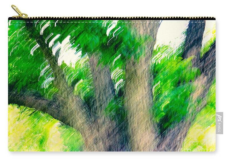 Blurred Carry-all Pouch featuring the photograph Blurred Pecan by Gary Richards