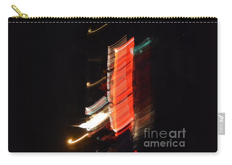 Lights Carry-all Pouch featuring the photograph Boat Parade 1 by Tamara Michael