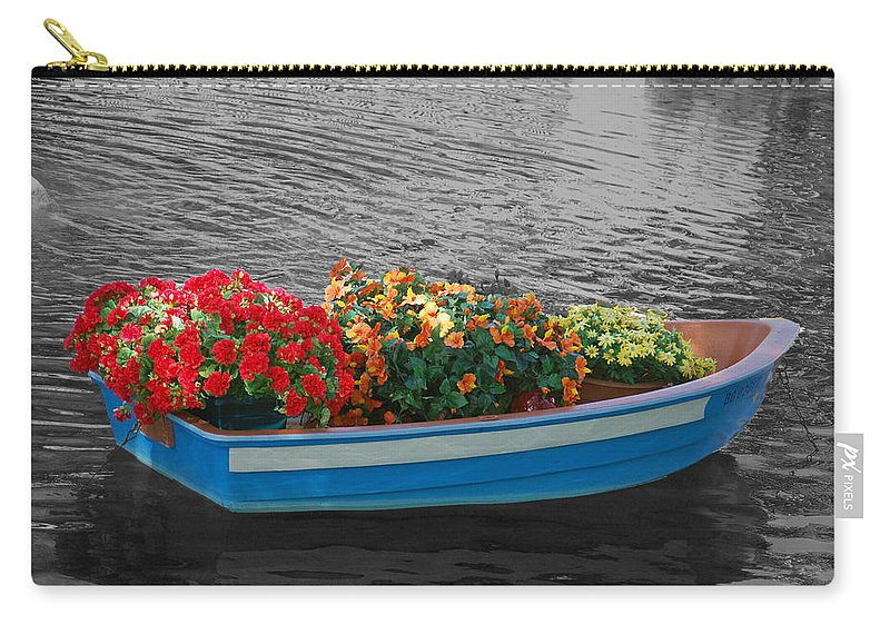 Boat Carry-all Pouch featuring the photograph Boat Parade by Aimee L Maher ALM GALLERY
