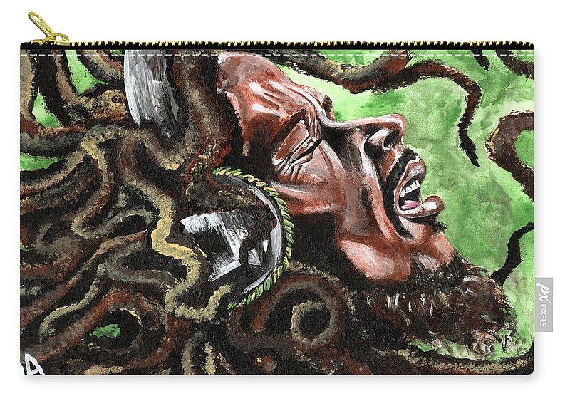 Legend Carry-all Pouch featuring the photograph Bob Marley by Artist RiA