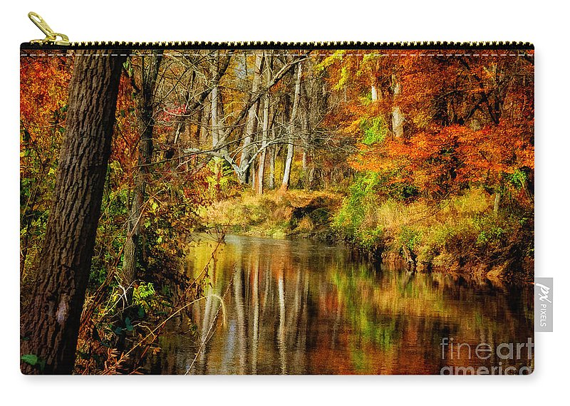 Landscape Carry-all Pouch featuring the photograph Bob's Creek by Lois Bryan