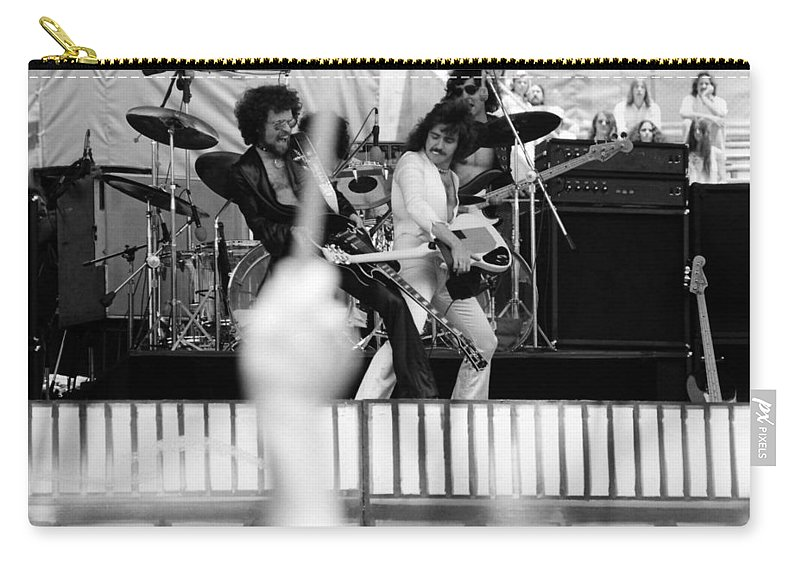 Blue Oyster Cult Carry-all Pouch featuring the photograph Boc #42 by Ben Upham