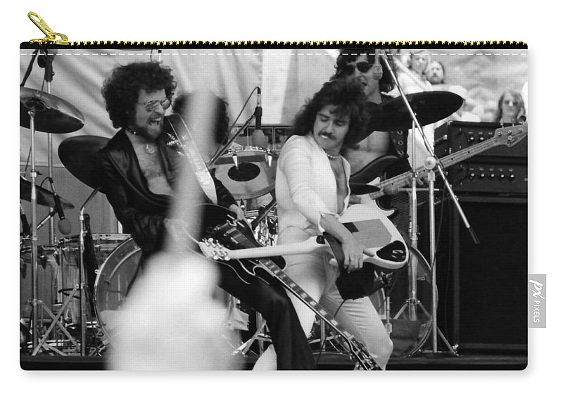 Blue Oyster Cult Carry-all Pouch featuring the photograph Boc #42 Crop 2 by Ben Upham