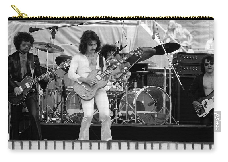 Blue Oyster Cult Carry-all Pouch featuring the photograph Boc #9 by Ben Upham