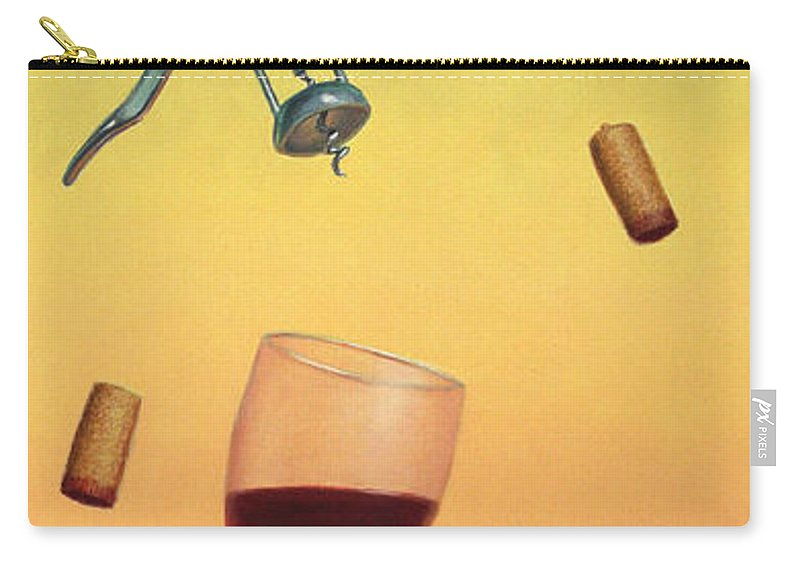 Still-life Carry-all Pouch featuring the painting Body And Soul by James W Johnson