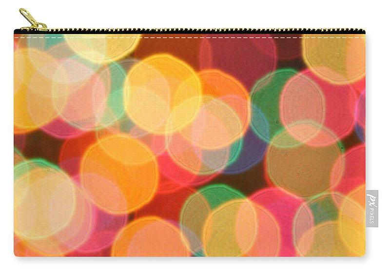 Bokeh Carry-all Pouch featuring the photograph Bokehful by Bethany Helzer