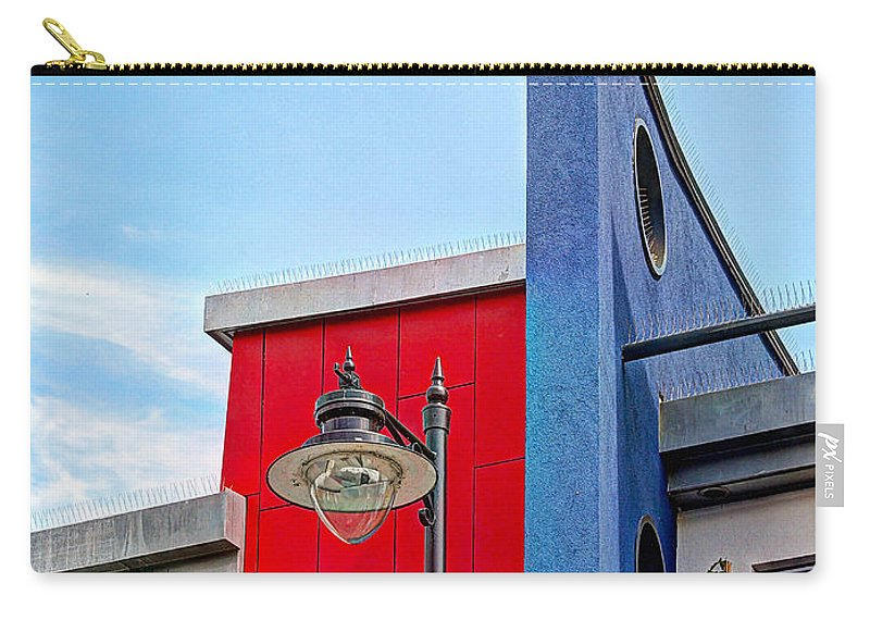 Architecture Carry-all Pouch featuring the photograph Bold Living by Gill Billington