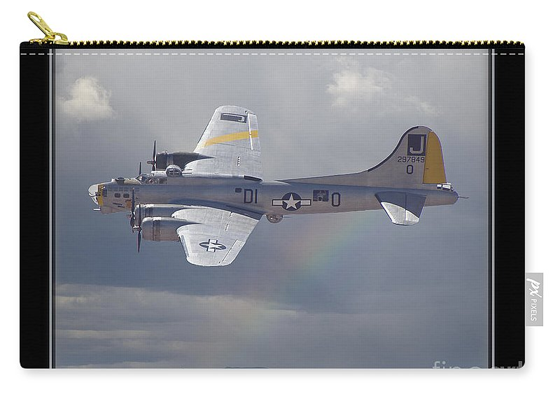 Plane Carry-all Pouch featuring the photograph Bomber by Larry White