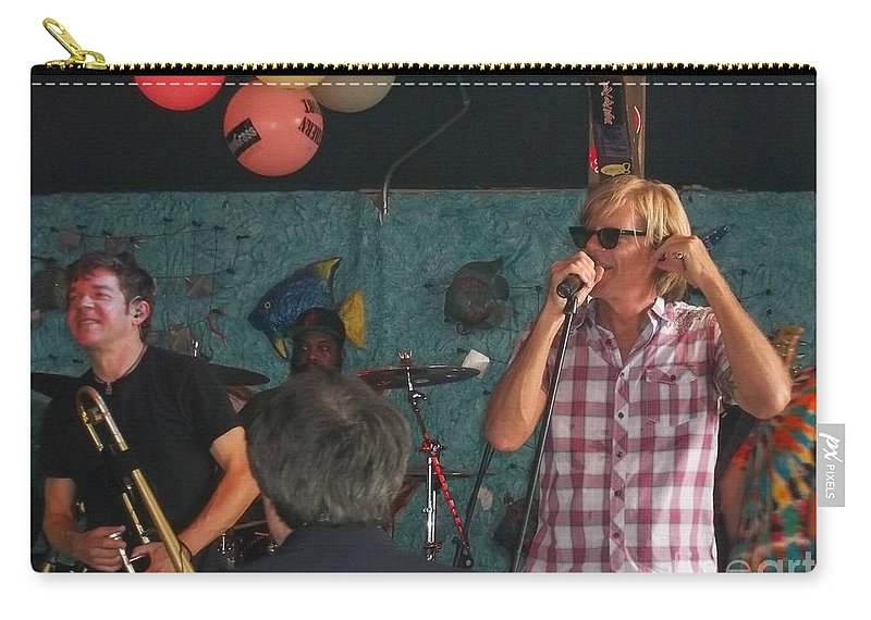 Carry-all Pouch featuring the photograph Bonerama In Rare Form by Kelly Awad