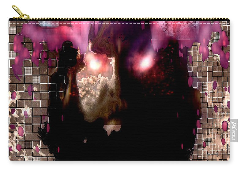 Book Of Joel Carry-all Pouch featuring the digital art Book Of Joel by Seth Weaver