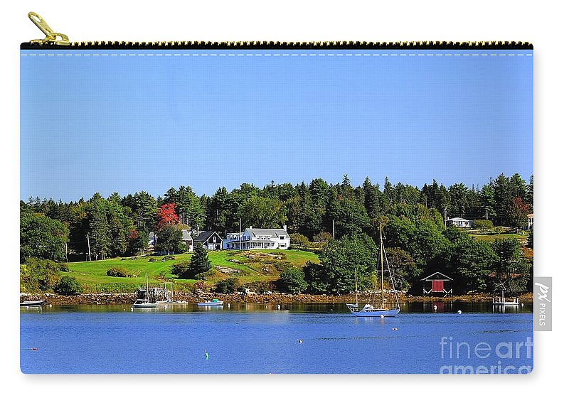 Booth Carry-all Pouch featuring the photograph Booth Bay by Kathleen Struckle