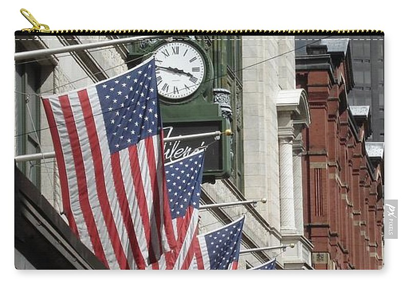 Boston Carry-all Pouch featuring the photograph Boston 4th Of July by Kerri Mortenson