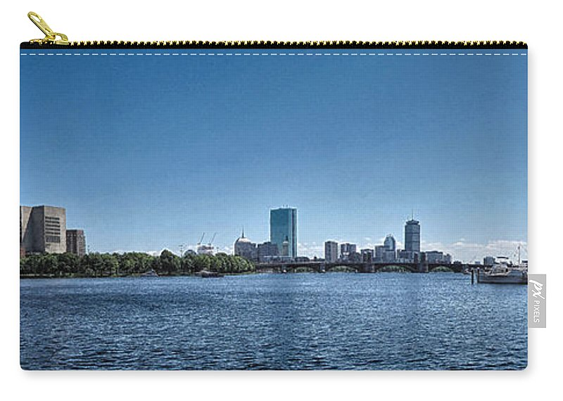Boston Carry-all Pouch featuring the photograph Boston Skyline II by C H Apperson