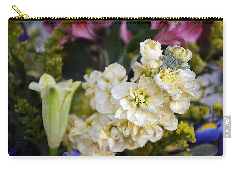 Exotic Carry-all Pouch featuring the photograph Bouquet Flower by Brent Dolliver