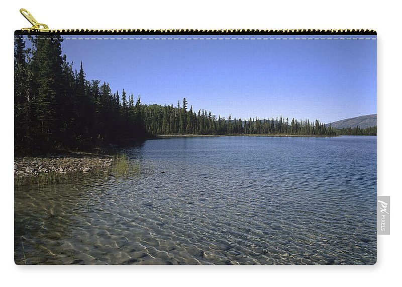 Americas Carry-all Pouch featuring the photograph Boya Lake by Roderick Bley