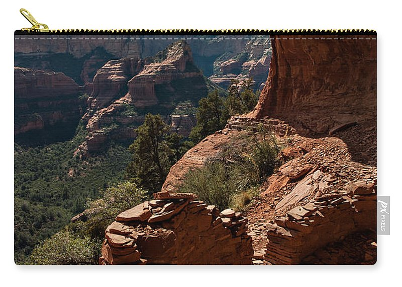 Sedona Carry-all Pouch featuring the photograph Boynton Canyon 08-160 by Scott McAllister