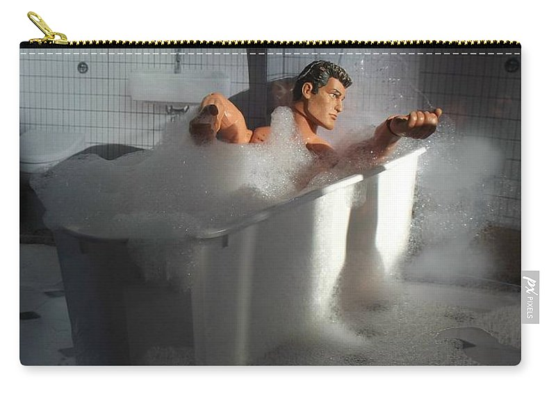 Brad Carry-all Pouch featuring the photograph Brads Bath 1 by Caroline Peacock