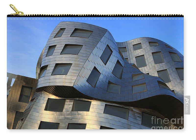 Brain Institute Carry-all Pouch featuring the photograph Brain Institute Building Las Vegas by Bob Christopher