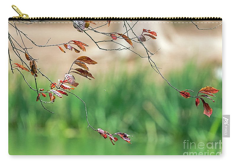 Branches Carry-all Pouch featuring the photograph Branches And Leaves by Kate Brown