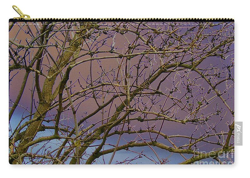 Branches Carry-all Pouch featuring the digital art Branches by Carol Lynch