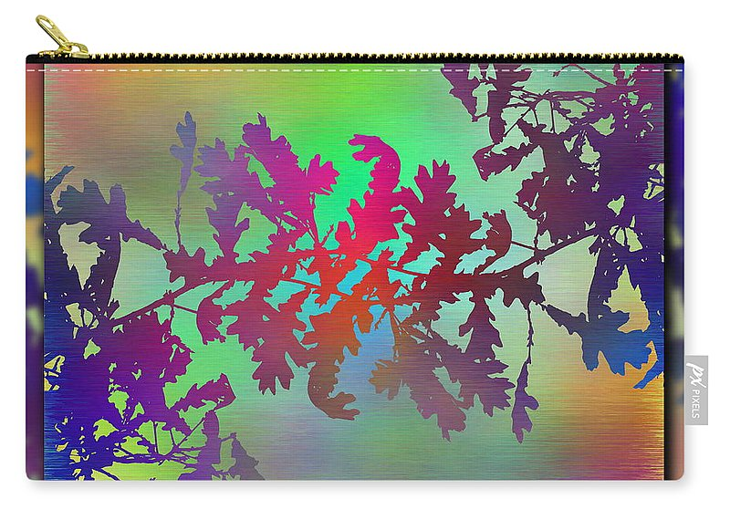 Abstract Carry-all Pouch featuring the digital art Branches In The Mist 25 by Tim Allen