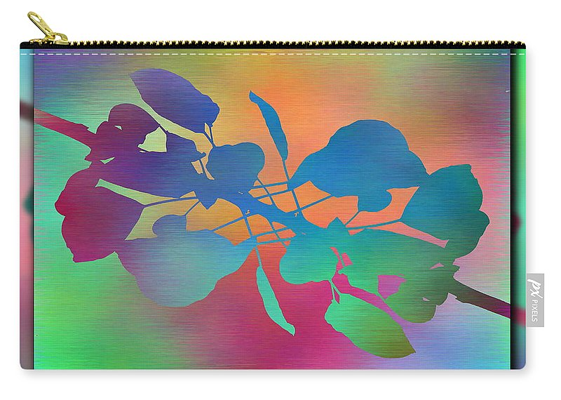 Abstract Carry-all Pouch featuring the digital art Branches In The Mist 37 by Tim Allen