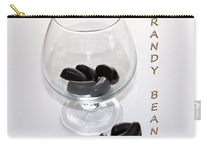 Brandy Carry-all Pouch featuring the photograph Brandy Beans - Liqueur - Chocolate by Barbara Griffin