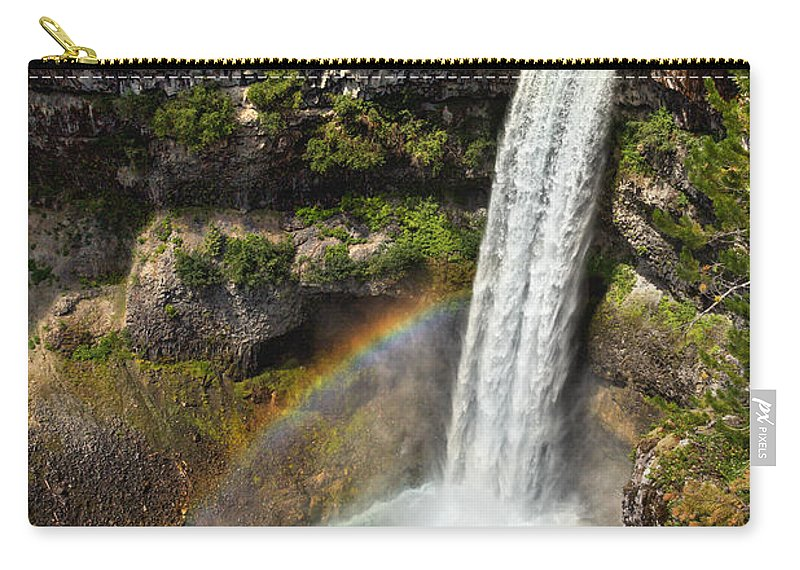 Brandywine Falls Carry-all Pouch featuring the photograph Brandywine Falls by Kathleen Bishop