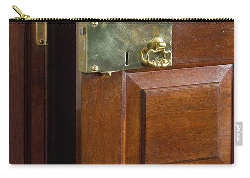 Latch Carry-all Pouch featuring the photograph Brass by Margie Hurwich