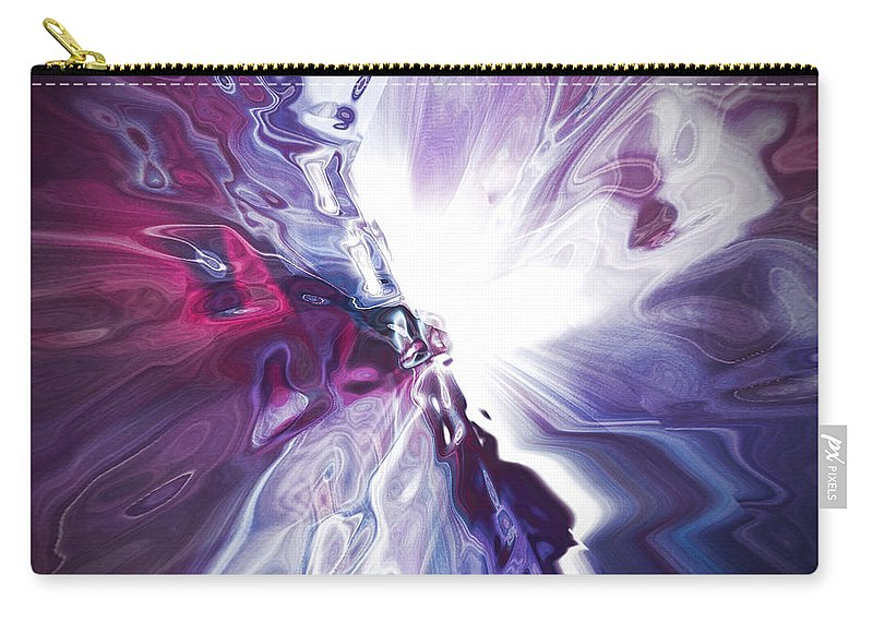 Hotel Art Carry-all Pouch featuring the digital art Breakthrough 1 by Margie Chapman