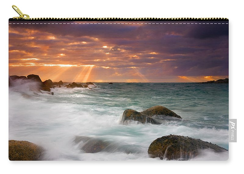 Dawn Carry-all Pouch featuring the photograph Breathtaking by Mike Dawson