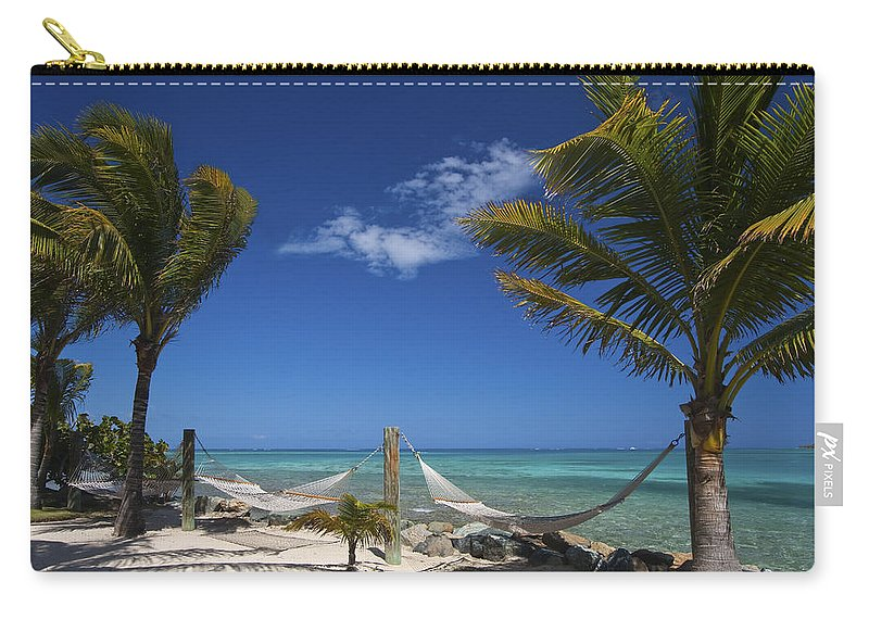 3scape Carry-all Pouch featuring the photograph Breezy Island Life by Adam Romanowicz