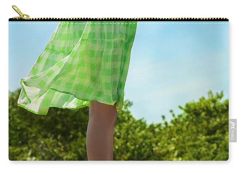 Laura Fasulo Carry-all Pouch featuring the photograph Breezy by Laura Fasulo