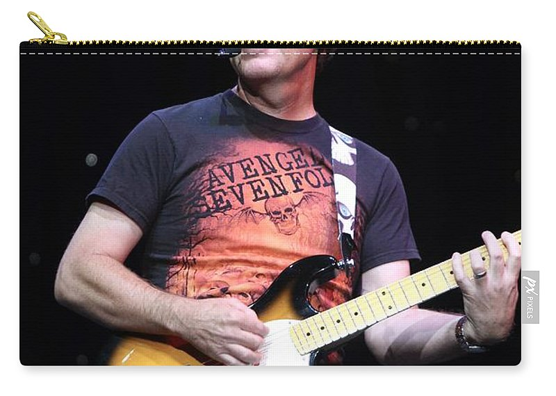 Singer Carry-all Pouch featuring the photograph Brian Haner by Concert Photos