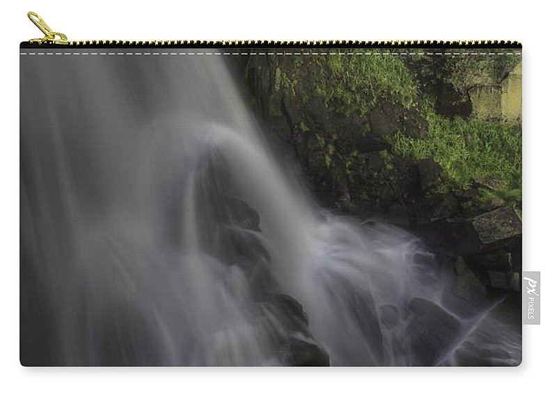 Waterfalls Carry-all Pouch featuring the photograph Bridal Veil Falls by Bill Sherrell